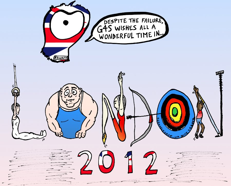 G4s Wish For London Olympic Games