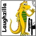 laughzilla cartoon comic strip jokes and humor. Laughzilla.com