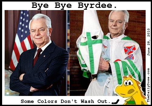Bye Bye Byrdee. Some  Colors Don't Wash Out. TheDailyDose.com .