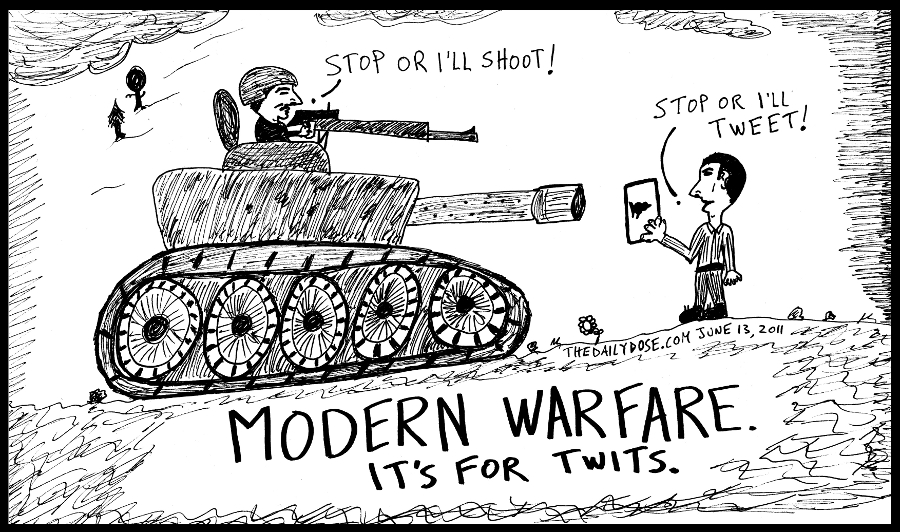 Modern War Cartoon N Jokes Editorialcartoons