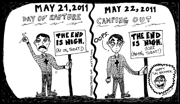 editorial comic strip feat. rev. camping false prophecy of 2011 may 21 ...