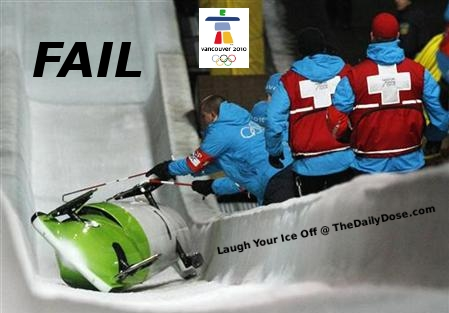 Olympic Failure -  Vancouver 2010 German Bobsled Women Pair
