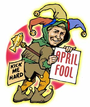 Happy April Fool's Day!