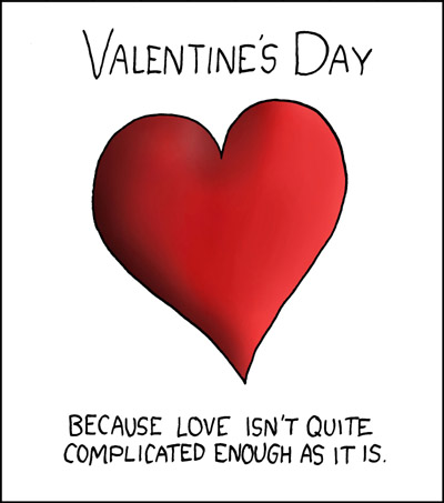 "Funny Quote: ""A Valentine's Day"