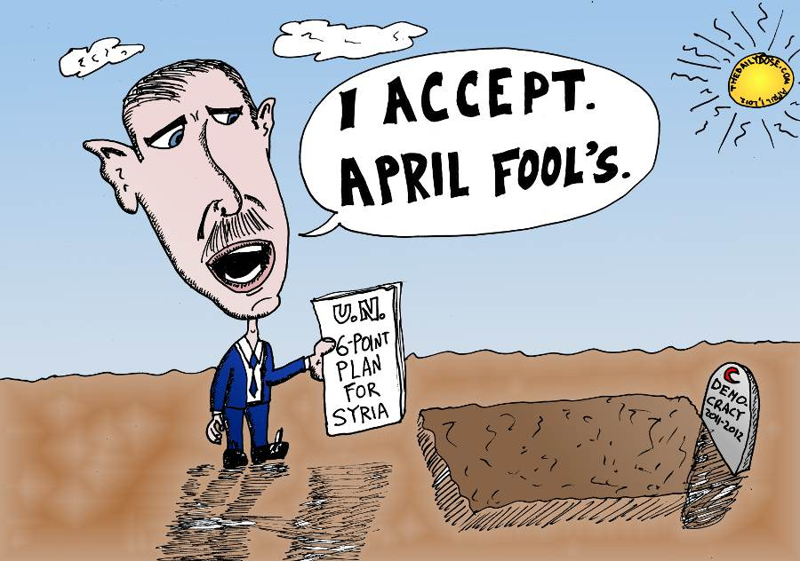Bashar Assad Accepts The UN Plan