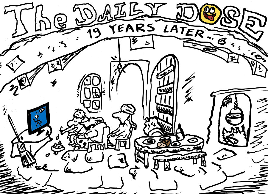 The Daily Dose is 19 years old